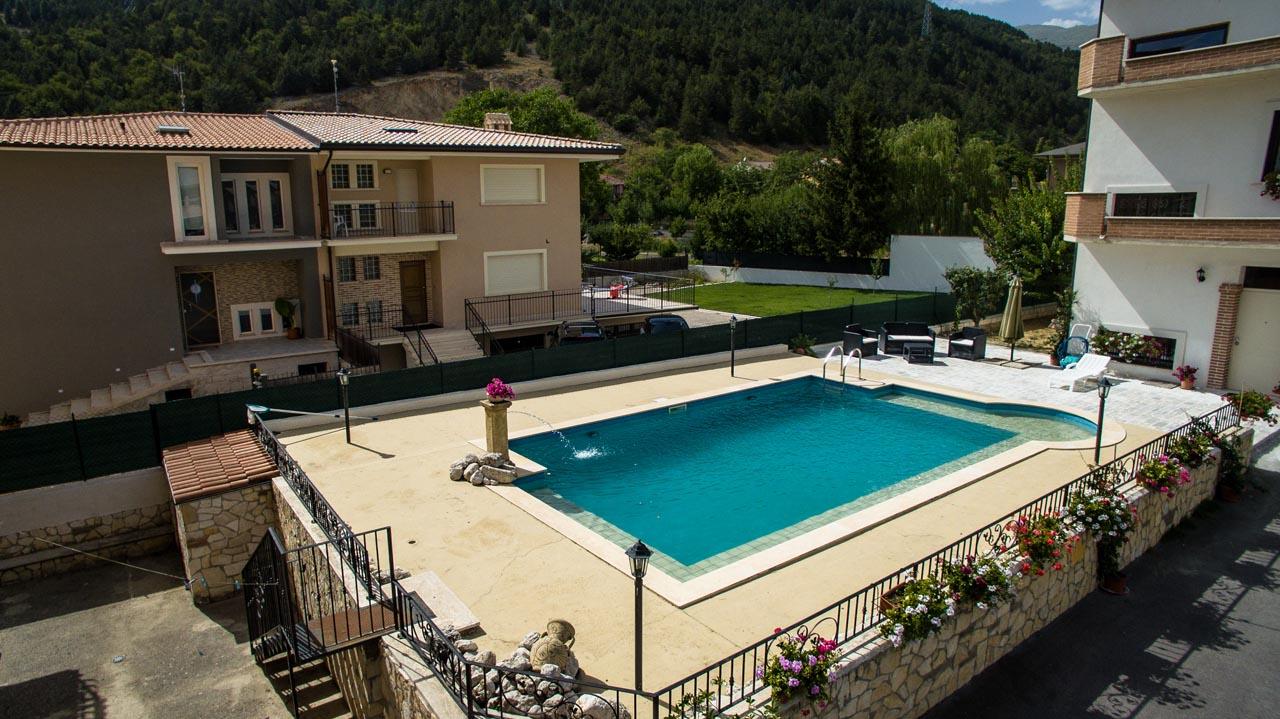 Realizzazione villa con piscina - Avezzano (AQ)
